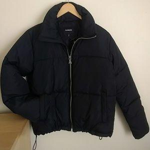 NWT Express Zip Bomber Puffer Jacket